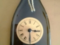 Reloj botella vino